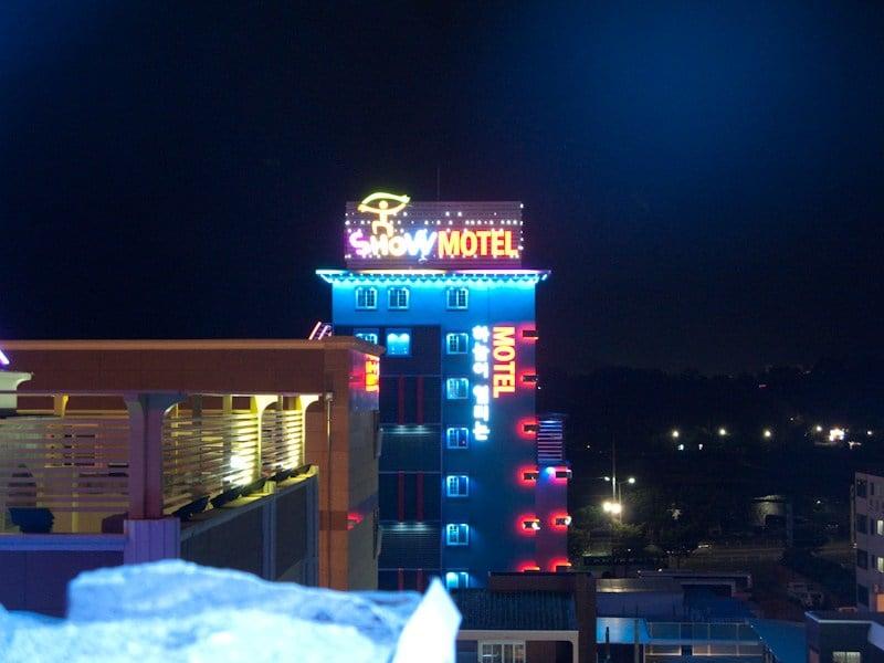 Sexo anal en un motel