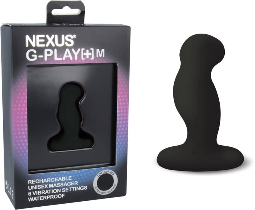 Review Nexus G-Play Plus Medium recargable vibrador Butt Plug