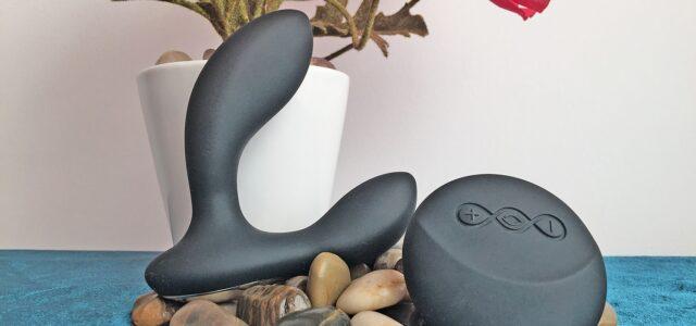 Masajeador de próstata con control remoto LELO HUGO